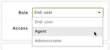 user roles in Zendesk