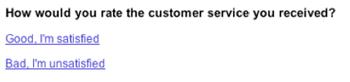 Customer service assesment in Zendesk